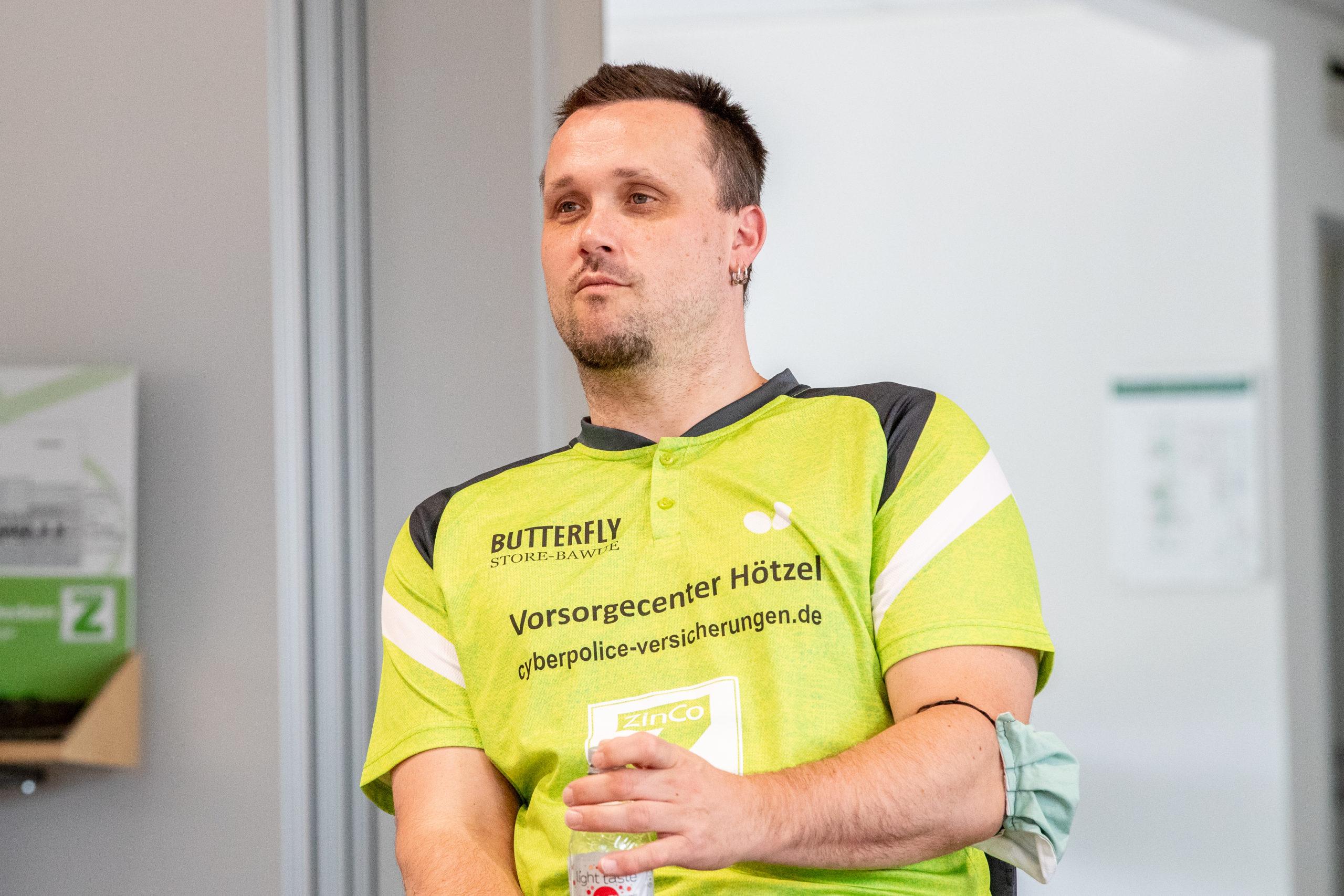 Weltmeister Thomas Brüchle auch im Landesklasse-Männerteam aktiv