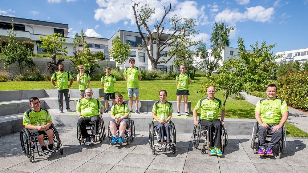 Para-Tischtennisabteilung von Tischtennis Frickenhausen stellt sich vor