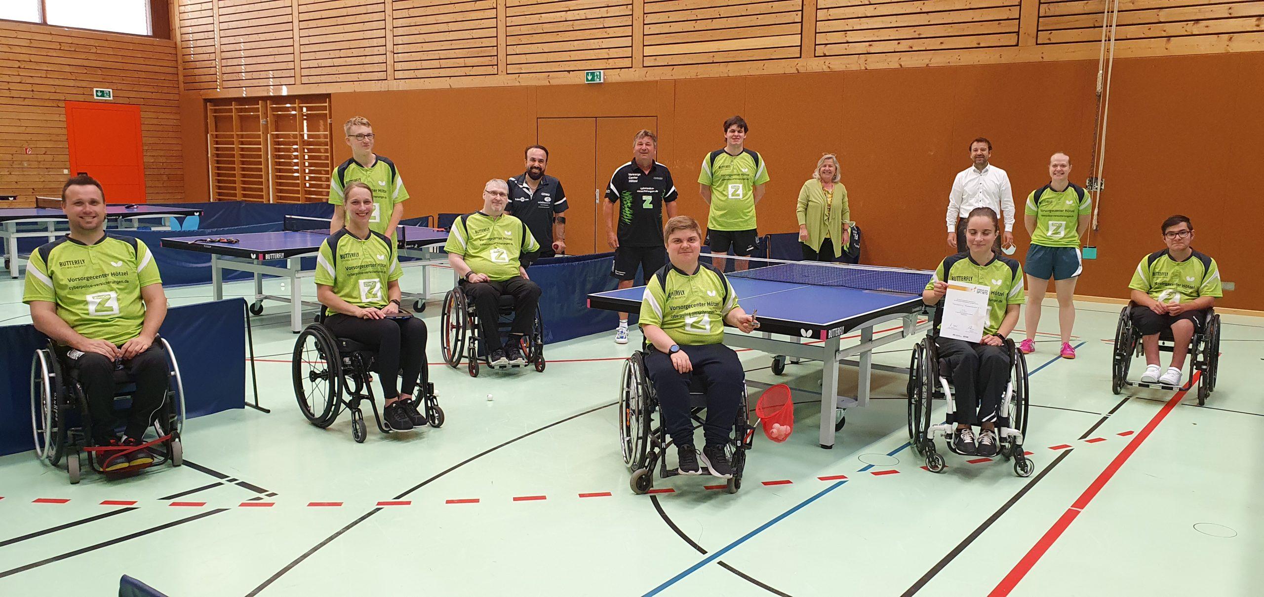 """Tischtennis Frickenhausen erhält """"Oscar des Breitensports"""""""