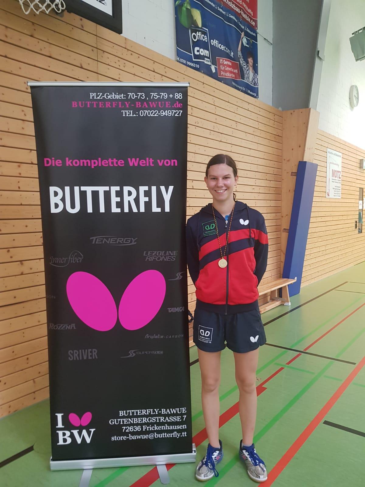 Lea qualifiziert sich für die Deutschen Meisterschaften in Bremen