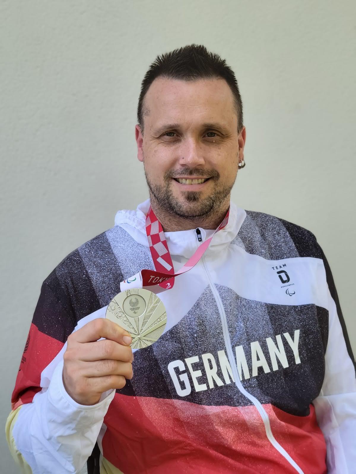 Ehrung für Silbermedaillengewinner Thomas Brüchle